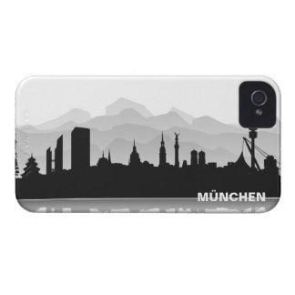 Munich skyline iPhone 4/4s sleeve/Case iPhone 4 Case-Mate Cases