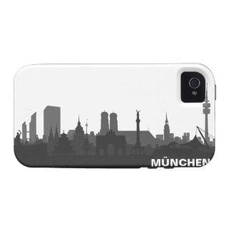 Munich skyline iPhone 4/4s sleeve/Case Vibe iPhone 4 Cases
