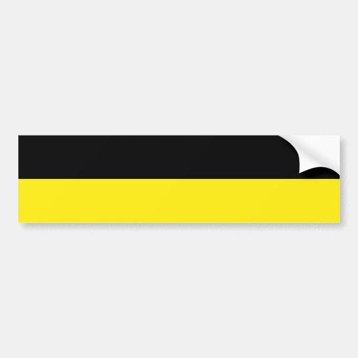 Munich(Striped), Germany Bumper Sticker