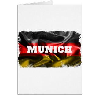 Munich Tarjeta De Felicitación