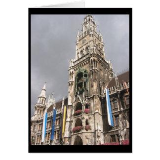 munich town hall border card