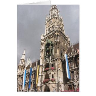 munich town hall card