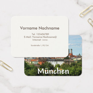 Munich visiting card
