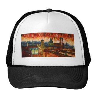Munich With Alps Panorama Trucker Hat