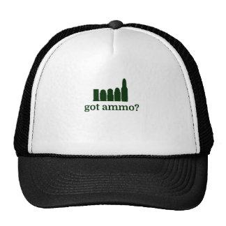 ¿munición conseguida? gorras de camionero