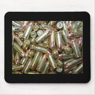 munición de la munición de 9m m mousepad