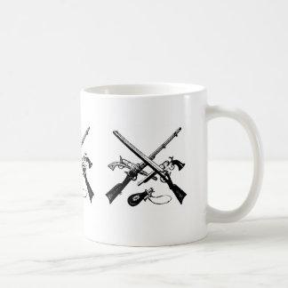 munición de la revolución americana en una taza de