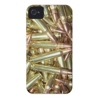 Munición de las balas AR15 iPhone 4 Case-Mate Protector