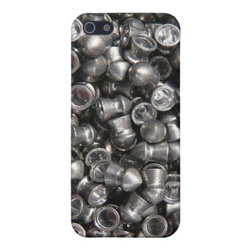 Munición del arma de la pelotilla - extremidades d iPhone 5 coberturas
