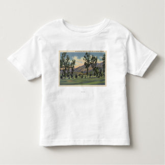 Municipal Golf Course in Griffith Park T-shirt