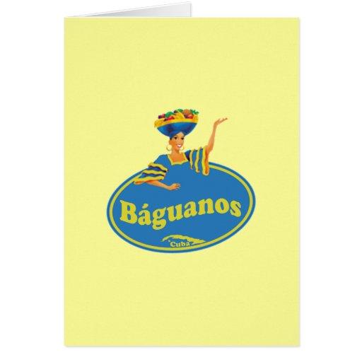 Municipio de Báguanos. Greeting Cards