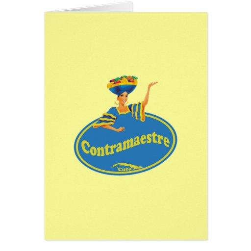 Municipio de Contramaestre. Greeting Card