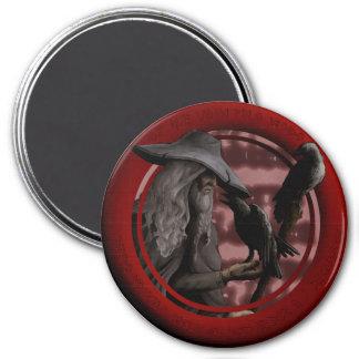 Munin and Hugin Magnet