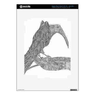 Munin Decals For iPad 3