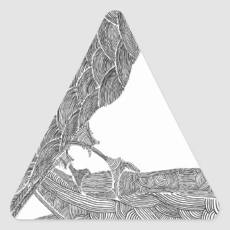 Munin Triangle Sticker