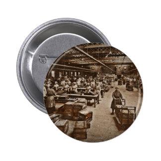 Munitions Box Factory Women Button