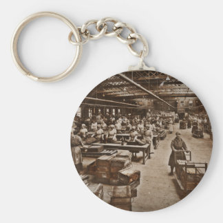 Munitions Box Factory Women Keychain