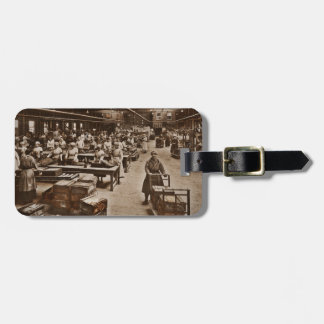 Munitions Box Factory Women Luggage Tag