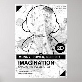 Munny, Power, Respect Print
