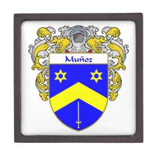 Munoz Coat of Arms/Family Crest Keepsake Box