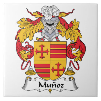 Munoz Family Crest Tile