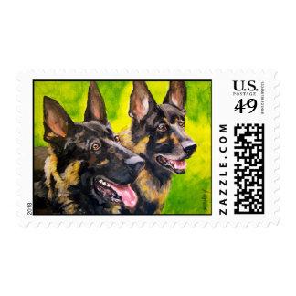 Munoz's Manny & Barkley Stamps