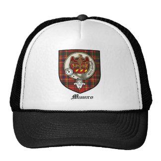 Munro Clan Crest Badge Tartan Trucker Hat