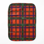 Munro clan Plaid Scottish tartan Baby Burp Cloth