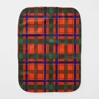 Munro clan Plaid Scottish tartan Baby Burp Cloth