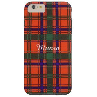Munro clan Plaid Scottish tartan Tough iPhone 6 Plus Case