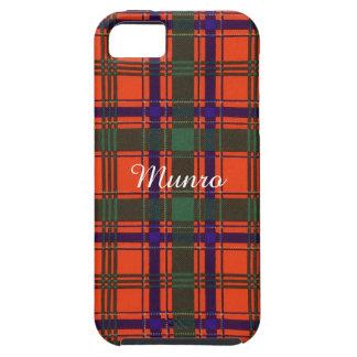 Munro clan Plaid Scottish tartan iPhone 5 Case