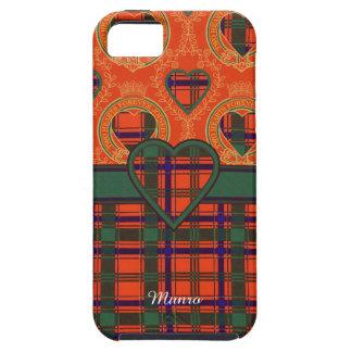 Munro clan Plaid Scottish tartan iPhone 5 Covers