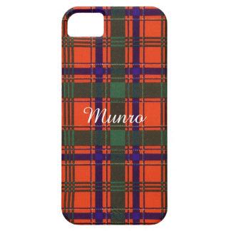Munro clan Plaid Scottish tartan iPhone 5 Cases