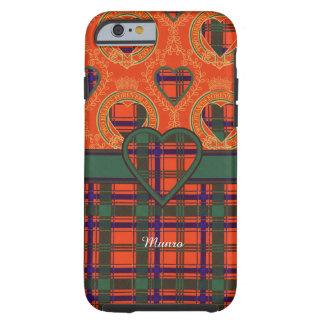 Munro clan Plaid Scottish tartan Tough iPhone 6 Case