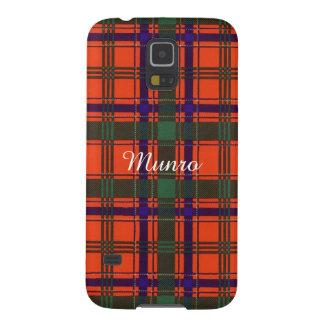 Munro clan Plaid Scottish tartan Case For Galaxy S5