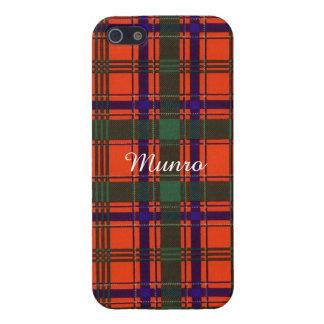 Munro clan Plaid Scottish tartan Cases For iPhone 5