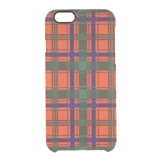 Munro clan Plaid Scottish tartan Uncommon Clearly™ Deflector iPhone 6 Case