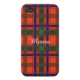 Munro clan Plaid Scottish tartan iPhone 4/4S Covers
