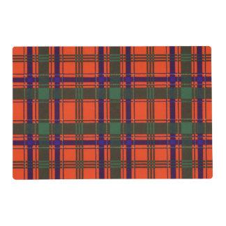 Munro clan Plaid Scottish tartan Placemat