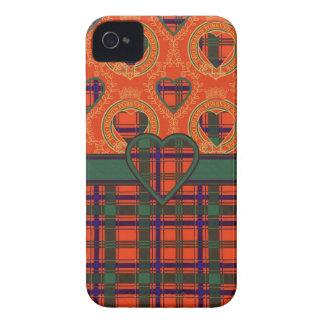 Munro Scottish clan tartan - Plaid iPhone 4 Case-Mate Case