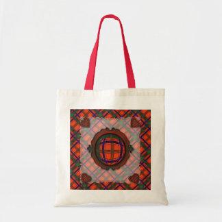 Munro Scottish clan tartan - Plaid Tote Bag