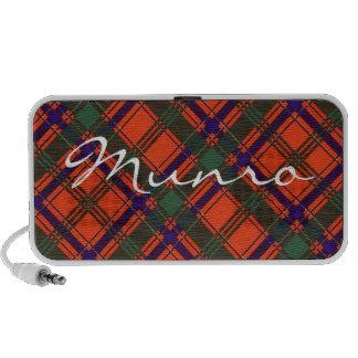 Munro Scottish clan tartan Laptop Speaker