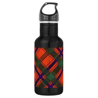 Munro Scottish Tartan Stainless Steel Water Bottle