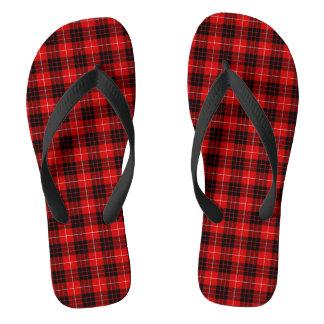 Munro Tartan Flip Flops