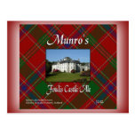 Munro's Foulis Castle Ale Postcards