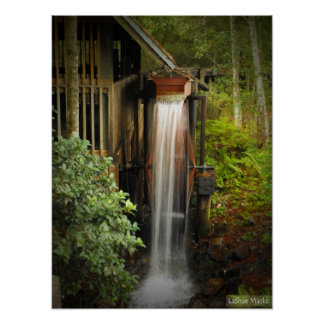 Munson Grist Mill Poster