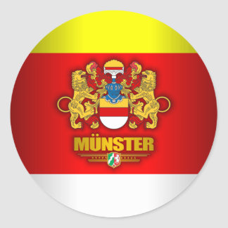 Munster Classic Round Sticker