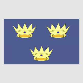 Munster (Ireland) Flag Rectangle Stickers