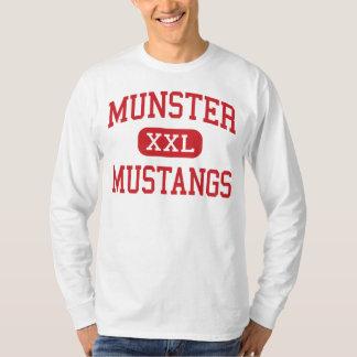 Munster - Mustangs - High School - Munster Indiana T-Shirt