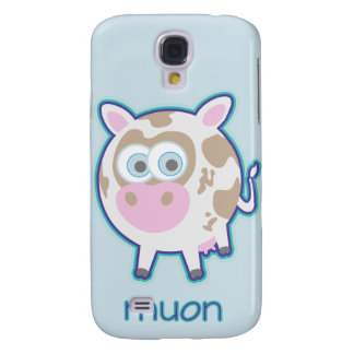 Muon Particle Cow Galaxy S4 Case